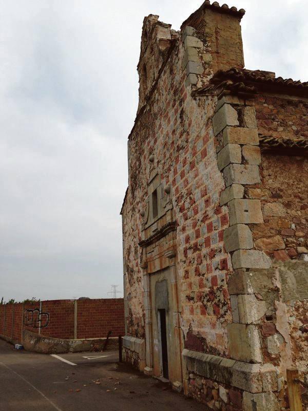 Estado actual de la iglesia de Benicalaf de Benavites. EPDA