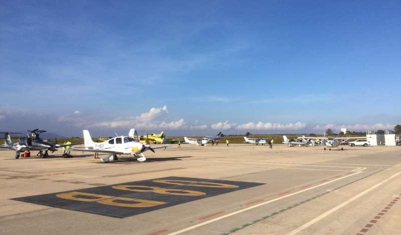 Imagen recurso del aeropuerto de Castellón. - EPDA