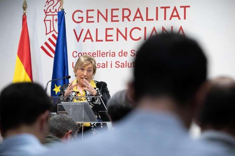 La consellera de Sanidad, Ana Barceló, en una imagen reciente EFE/Biel Aliño