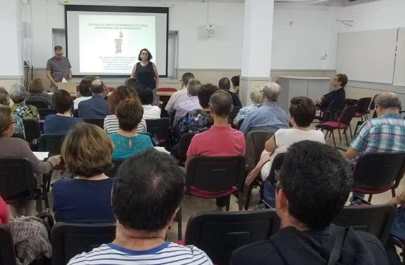 María Calvo explica el contenido del curso