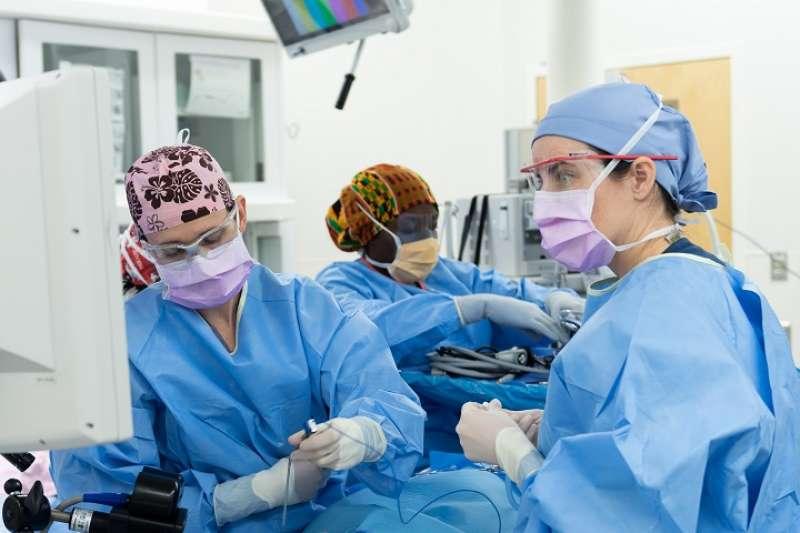 Enfermeras en el hospital. EFE Archivo