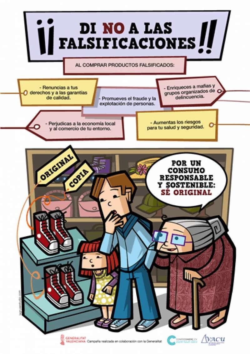 Campaña contra las falsificaciones. EPDA
