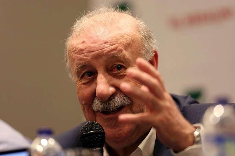 El exentrenador de la selección española de fútbol y campeón del mundo en Sudáfrica 2010, Vicente del Bosque. EFE