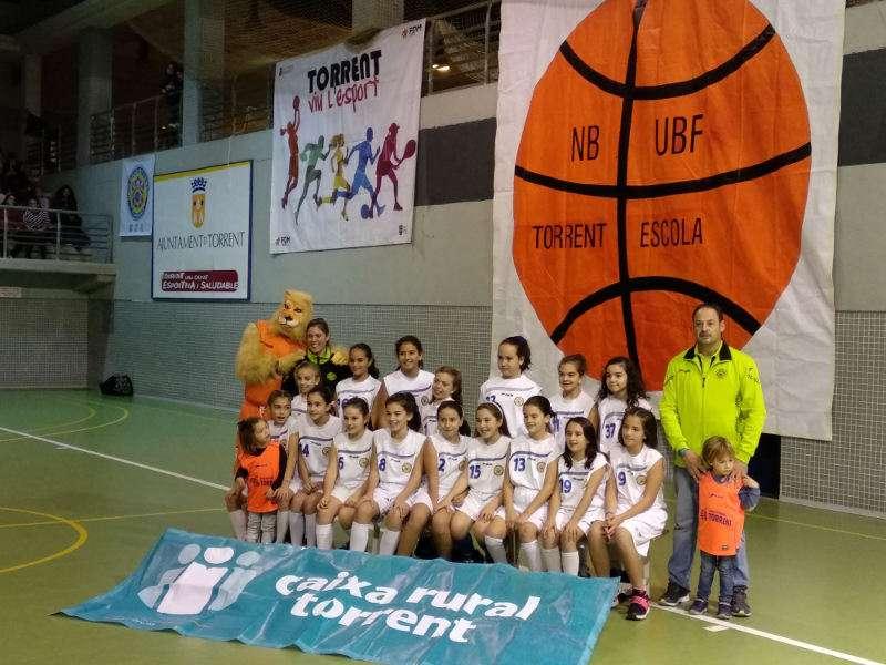Alevín del Basket Torrent. EPDA