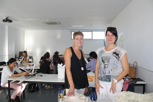 Sara Coleman e Idoia Cuesta. FOTO: EPDA