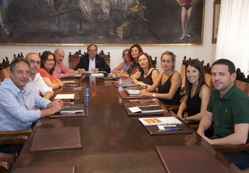 Miembros de la Junta de Gobierno. EPDA