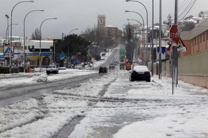Calles de la localidad alicantina de Castalla . EFE/MOREL