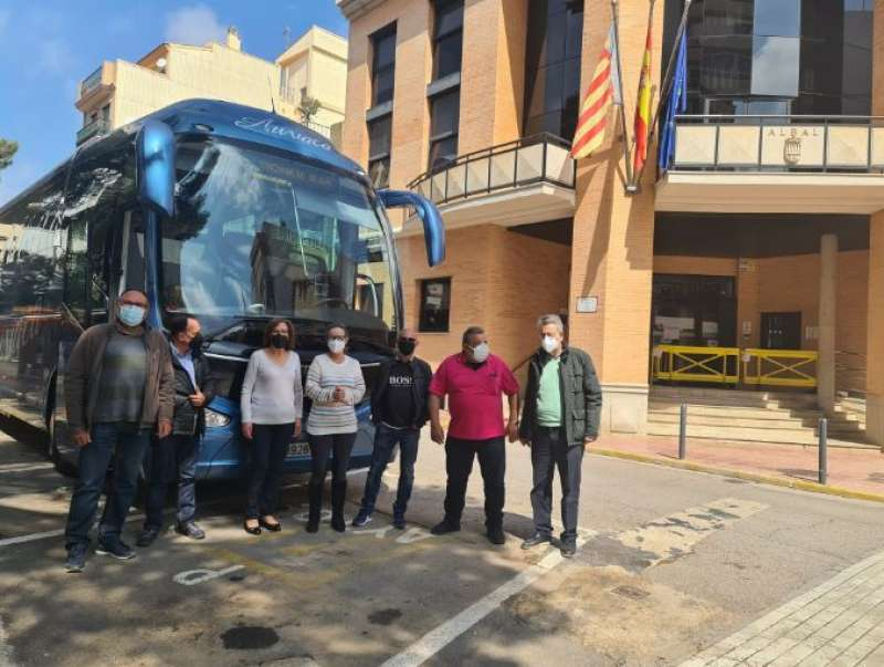 Albal autobus. EPDA