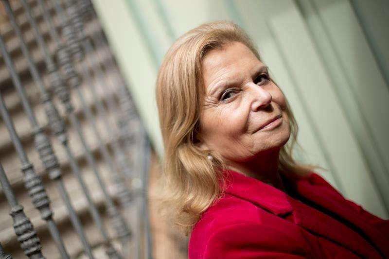 La escritora, académica de la RAE y presidenta de la asociación de autores y editores CEDRO, Carme Riera. EFE/Archivo
