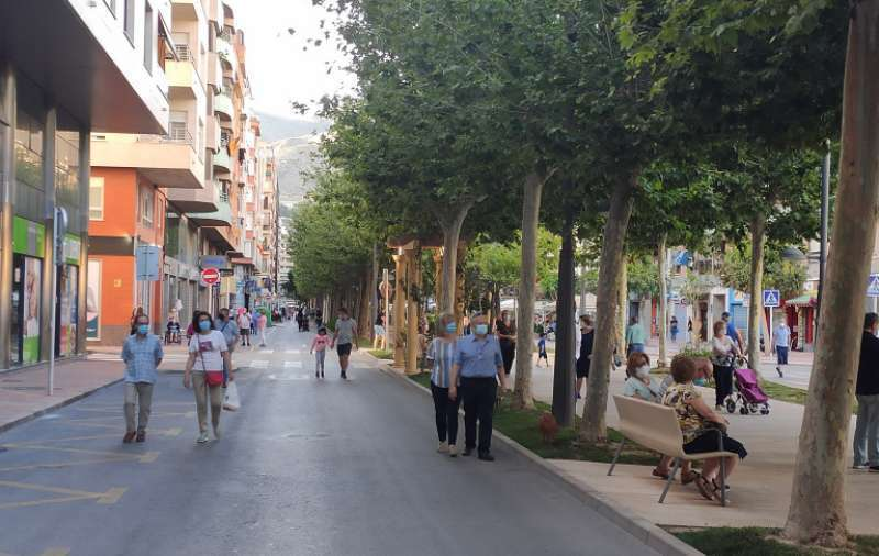 Calle principal de Orihuela