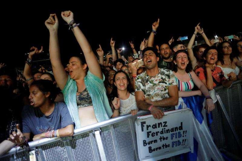 Público asistente a uno de los conciertos del Festival Internacional de Benicasim (FIB)