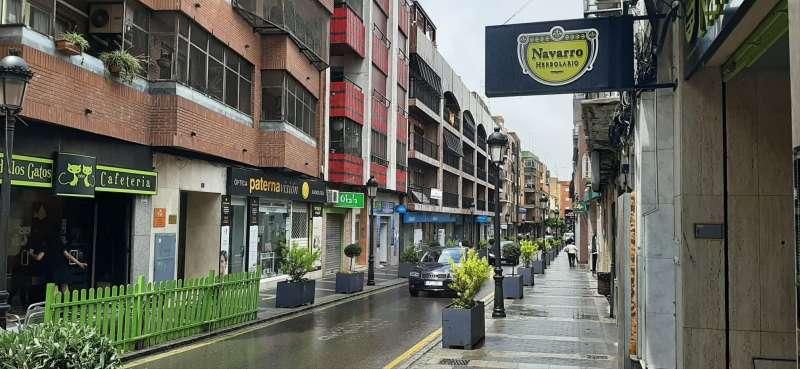 Zona comercial de Paterna. EPDA