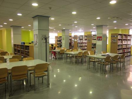 Biblioteca municipal de Xirivella.