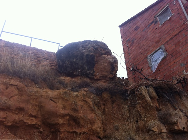 Imagen de la roca. FOTO: DIVAL