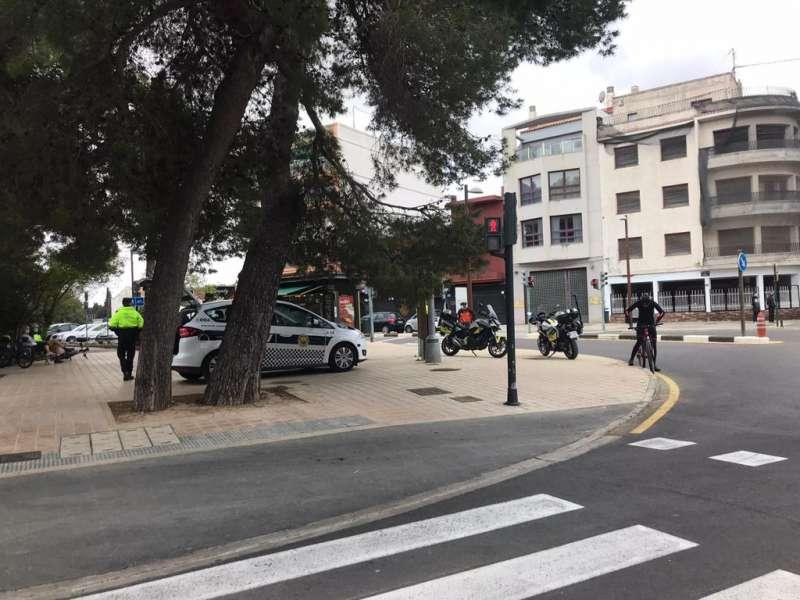 Campaña de multas en el Saler de Valencia. EPDA