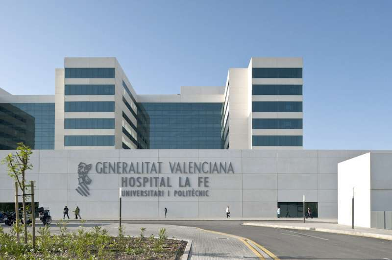 Hospital La Fe en un aimagen de archivo.