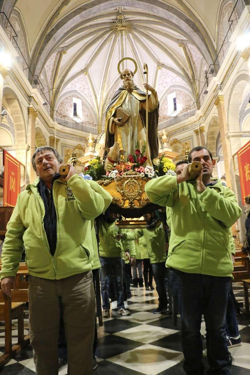 Un dels actes en honor a Sant Antoni. // Foto: Sabin.