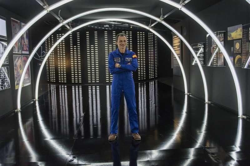 El astronauta Pedro Duque. EPDA