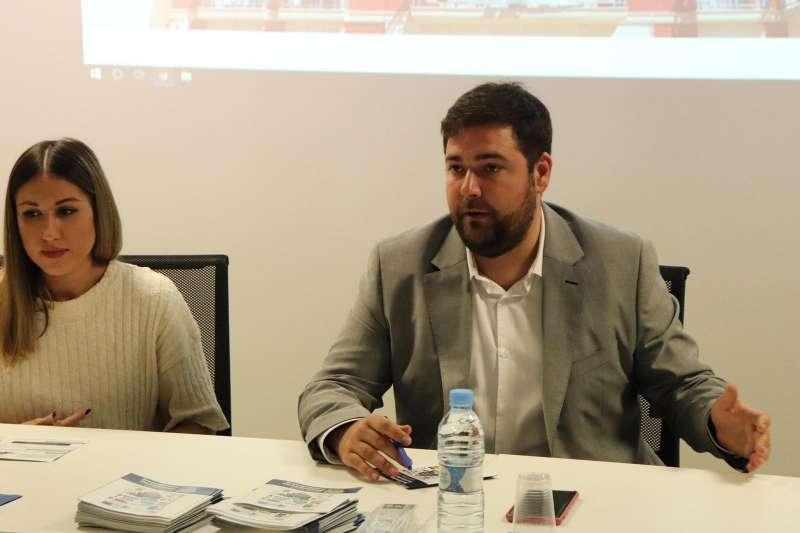 El Alcalde de Rafelbunyol, Fran López. EPDA