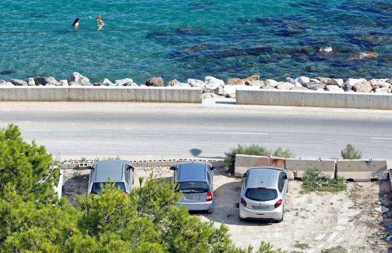 En la imagen, el aparcamiento donde tuvo lugar el homicidio EFE/Archivo