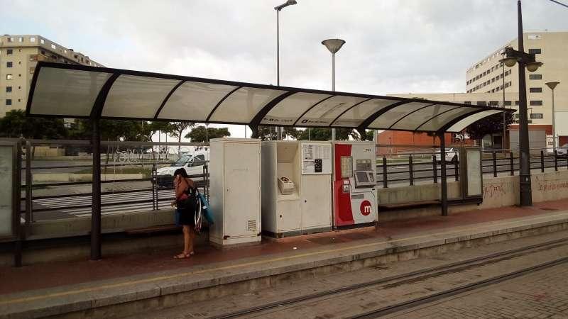 Tranvia , metro valencia. GVA
