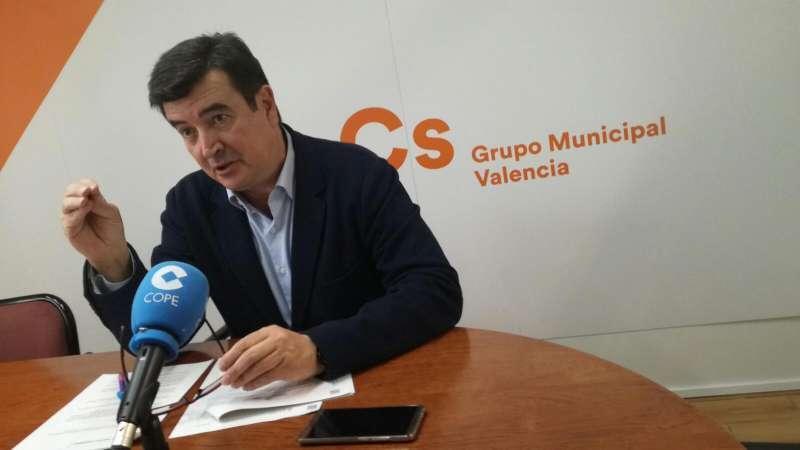 Fernando Giner, líder de Ciudadanos.