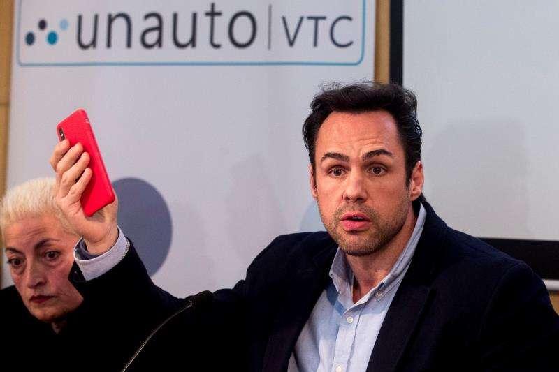 El presidente de la patronal Unauto VTC, Eduardo Martín. EFE/Archivo