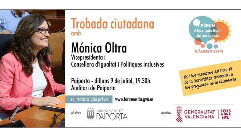 Trobada ciutadana amb Mónica Oltra