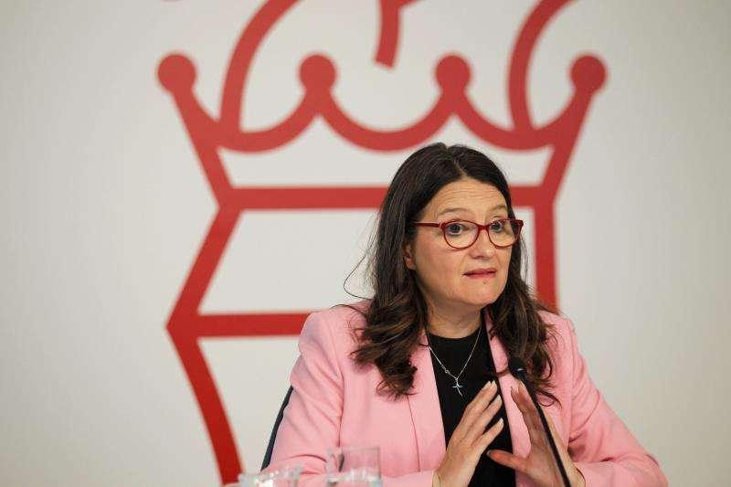 La vicepresidenta en funciones del Consell y consellera en funciones de Igualdad y Políticas Inclusivas, Mónica Oltra. EFE/Archivo