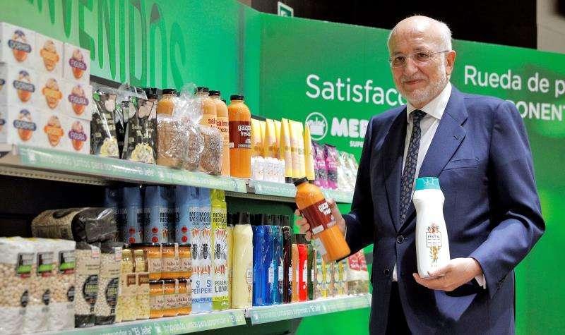 Mercadona se mantiene como la opción más barata en 26 ciudades, según la OCU. El presidente de Mercadona, Juan Roig. EFE/Archivo