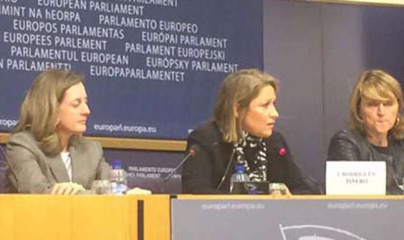 La eurodiputada socialista Inmaculada Rodríguez Piñero