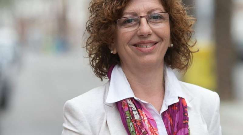 La responsable de Memoria Histórica del PSPV-PSOE, Alicia Piquer