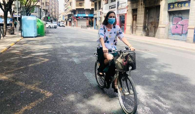 Elche apuesta por la bici