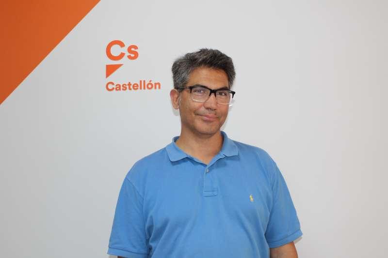 Manuel Herrera, portavoz de Ciudadanos en el Consistorio. -EPDA