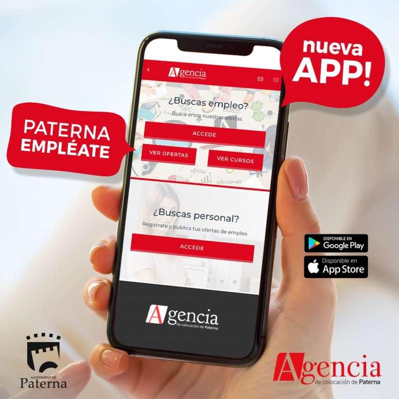La nueva APP para buscar empleo de Paterna. EPDA