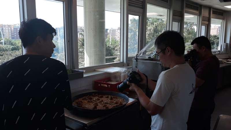 Periodistas chinos en un fam trip en la CV.