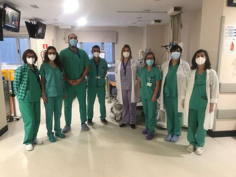 Colaboradores de Diálisis del Hospital de Manises en el proyecto GoodRENal.