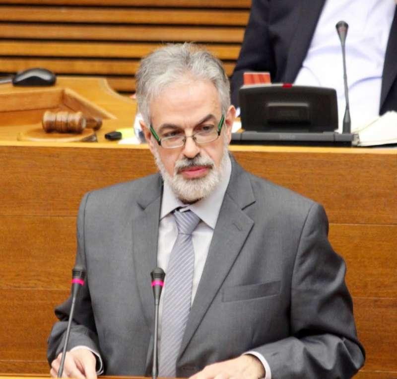 Domingo Rojo, diputado autonómicos de les Corts de Contigo.