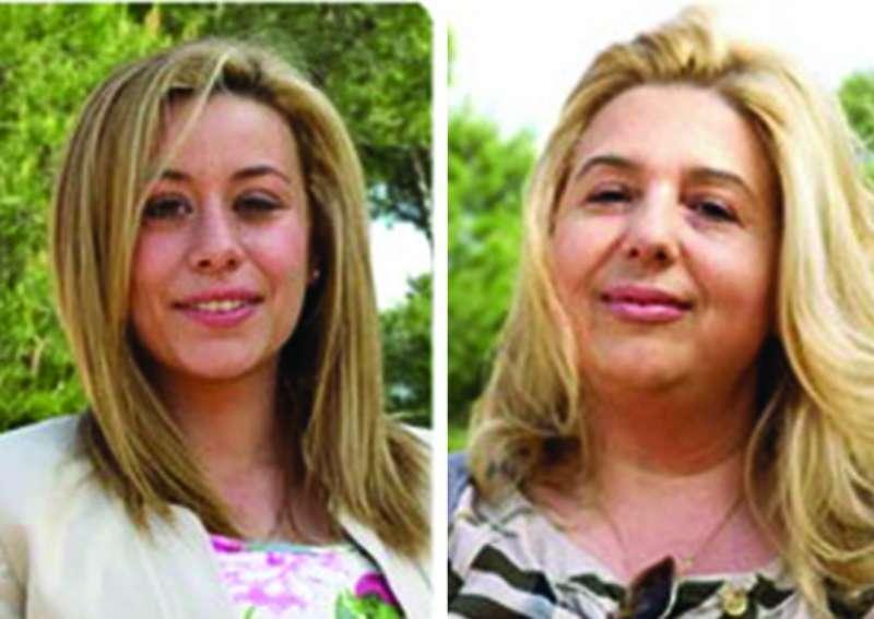 Las dos concejalas expulsadas por el PP. La de la derecha es Rico. FOTO EPDA