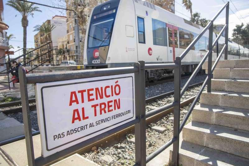 Estació de Metrovalencia a Picassent. EPDA