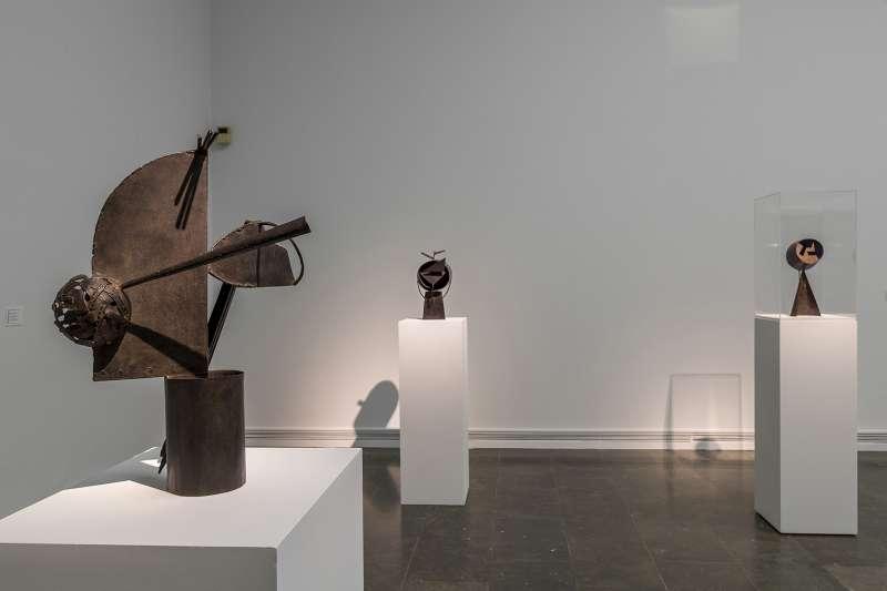 Parte de la muestra de Julio González.