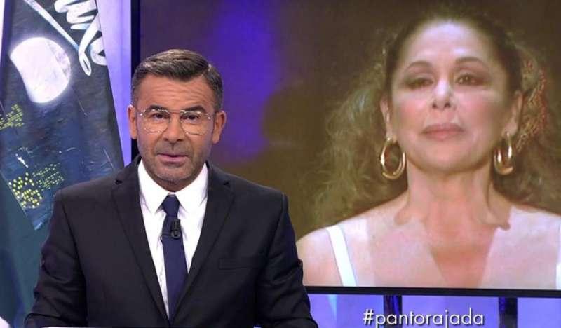 Jorge Javier Vázquez responde en Sábado Deluxe a Isabel Pantoja. FOTO TELECINCO.ES
