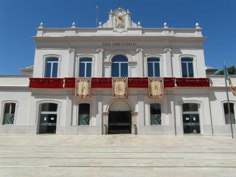 Fachada Ayuntamiento de Alfafar