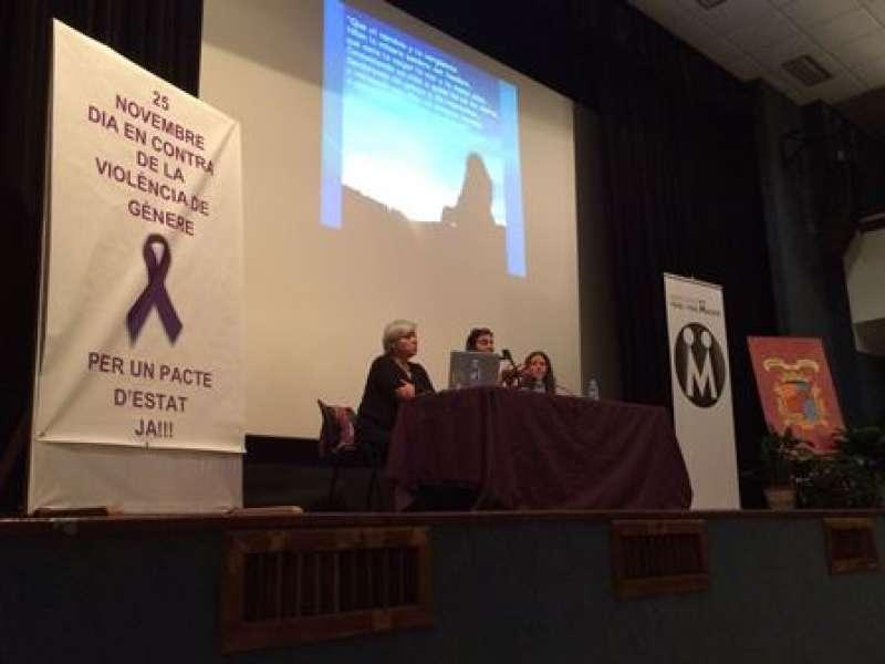 Charla de Susana Gisbert en Museros. EPDA