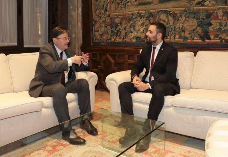 Ximo Puig y Mario Sánchez
