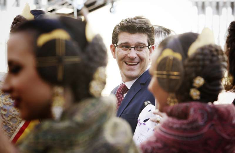 Jorge Rodríguez, presidente de la Diputación de Valencia. FOTO DIVAL