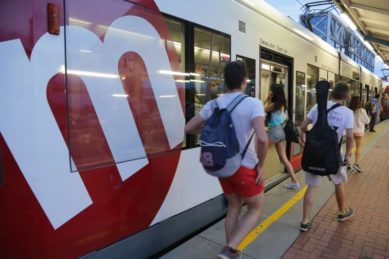 Usuarios de Metrovalencia. GVA