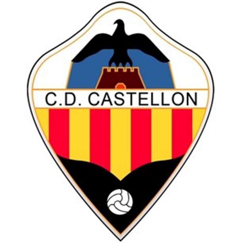 Escudo del CD Castellón. EPDA