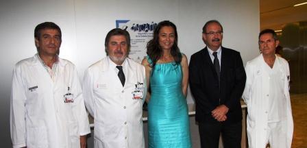 Nela Garcia junto al los miembros del grupo de investigación INCATIV. Foto EPDA