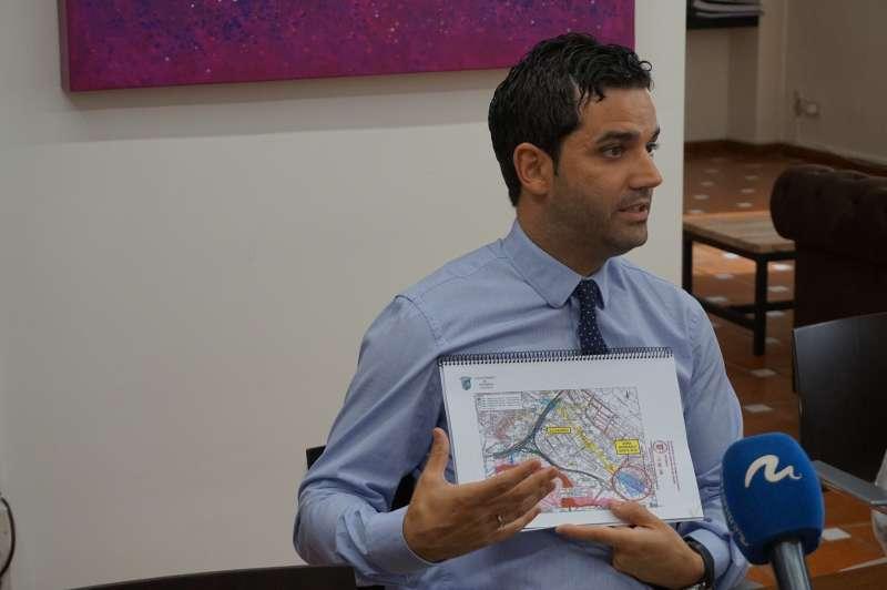 Sagredo expone su rechazo a la ampliación del by pass. EPDA